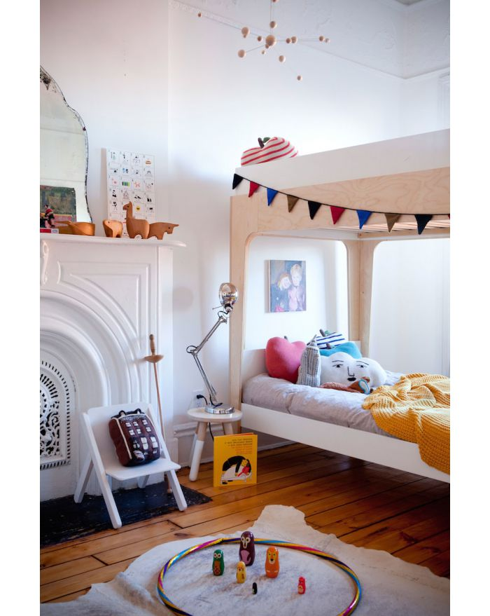 Oeuf perch lit superpose design lit mezzanine design pour chambre enfant - Lits superposes design ...