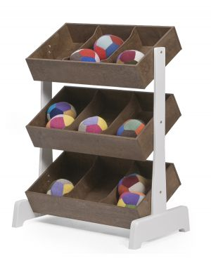 OEUF-TOY STORE-Rangement pour jouets-Noyer