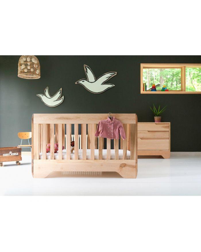 lit bebe bois massif max min. Black Bedroom Furniture Sets. Home Design Ideas
