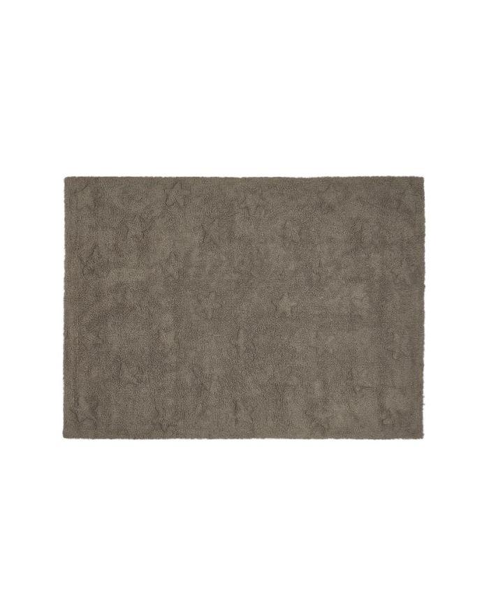 LORENA CANALS-TAPIS COTON ETOILES-Beige avec étoiles beige 120 x 160 cm
