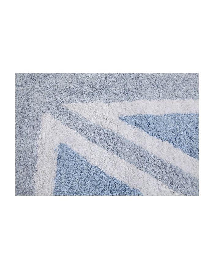 LORENA CANALS-TAPIS COTON FLAG UK-Bleu-120 x 160 cm