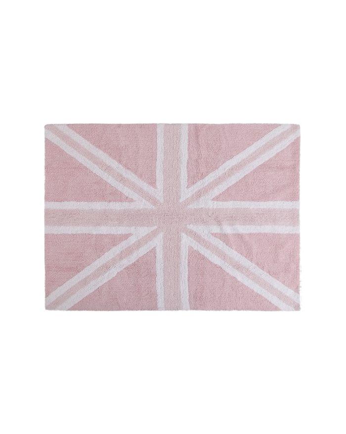 LORENA CANALS-TAPIS COTON FLAG UK-Rose 120 x 160 cm