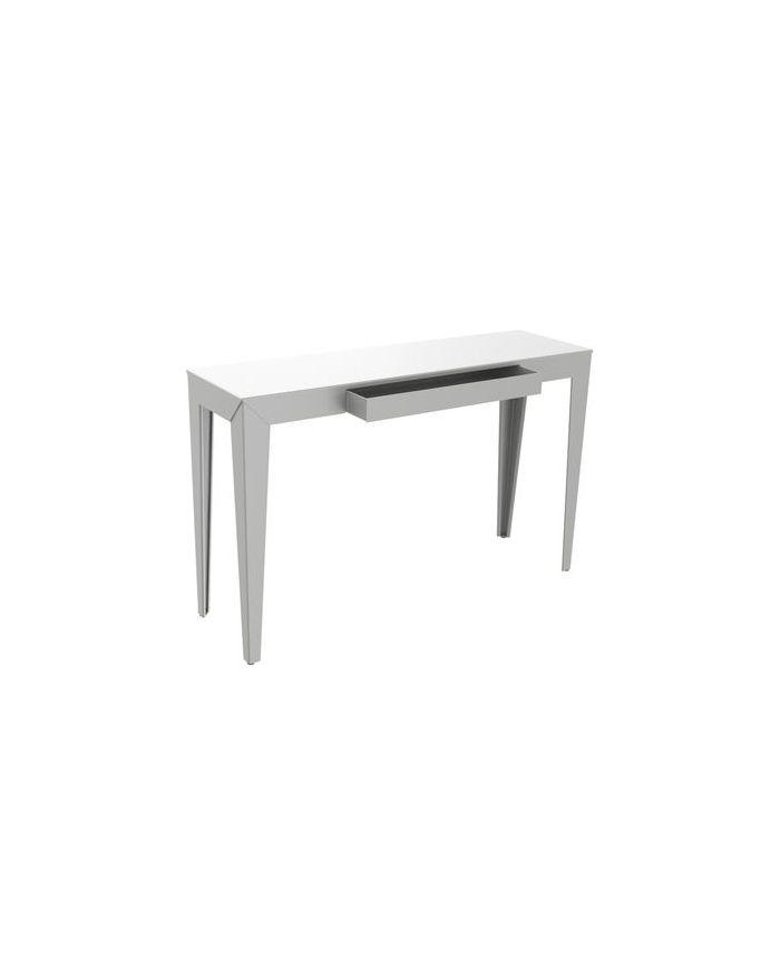 mati re grise console tiroir zef design pour d corer les int rieurs contemporains sur. Black Bedroom Furniture Sets. Home Design Ideas