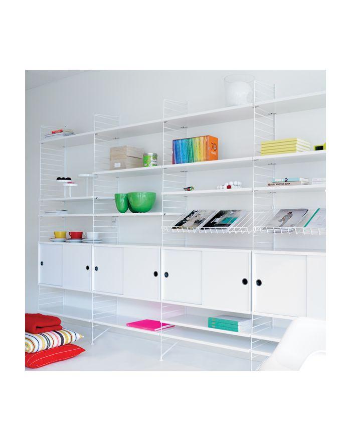 String cabinet syst me de rangement tag re pour maisons contemporaines et i - Element de rangement ...