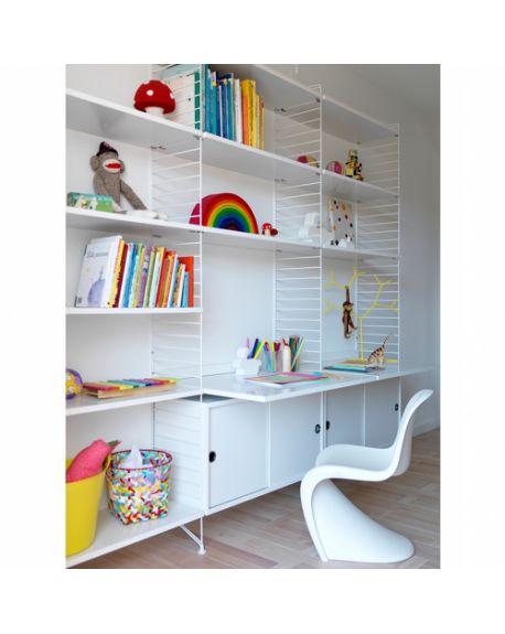 string syst me tag re modulaire et design scandinave. Black Bedroom Furniture Sets. Home Design Ideas