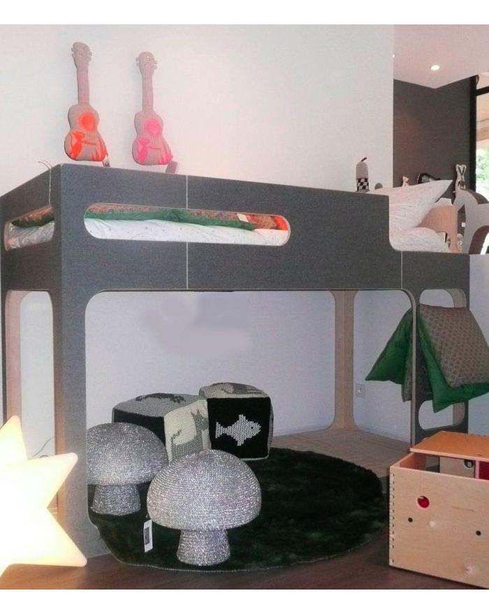 Perludi Amber In The Sky Design Bunk Bed For Kids
