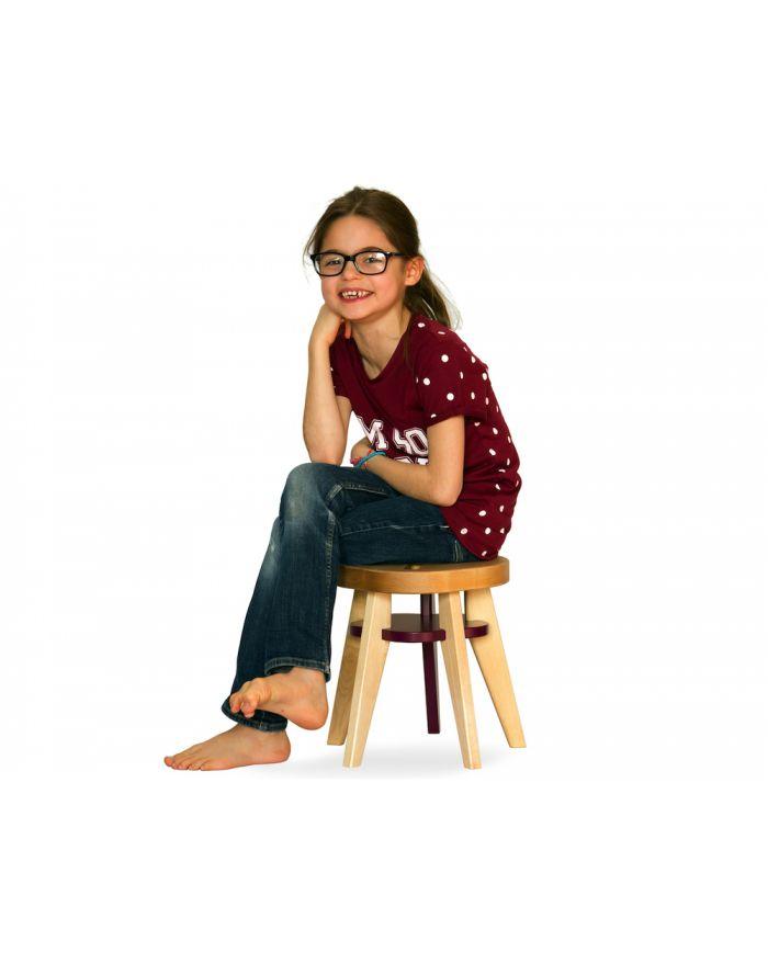 NONAH - PEPIN LE BREF - Tabouret design enfant