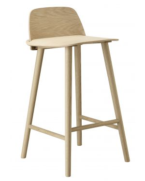 Muuto kids love design - Tabouret de bar hauteur assise 100 cm ...