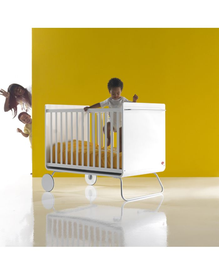 how to turn a cot bed into a bed