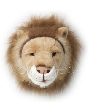 BIBIB-TROPHEE EN PELUCHE-Tête de lion