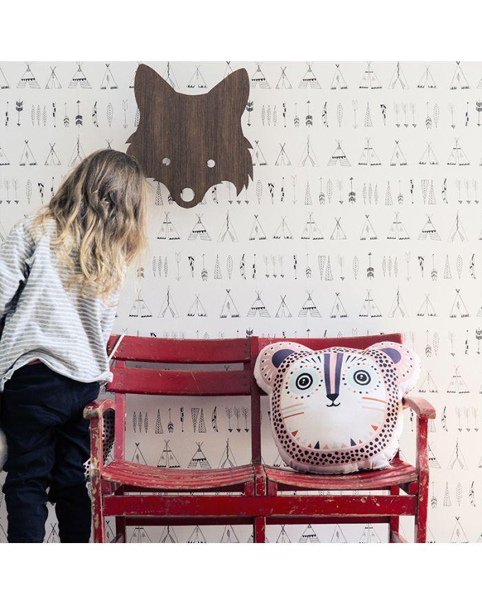 ferm living papier peint luxe pour d coration chambre d. Black Bedroom Furniture Sets. Home Design Ideas