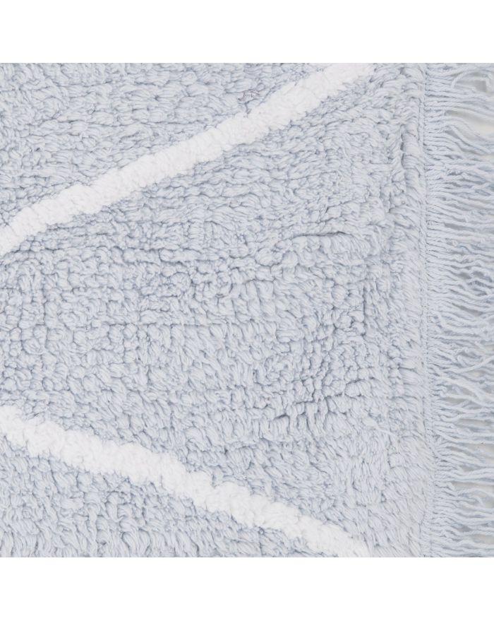 LORENA CANALS - TAPIS HIPPY -  Bleu - 120 x 160 cm