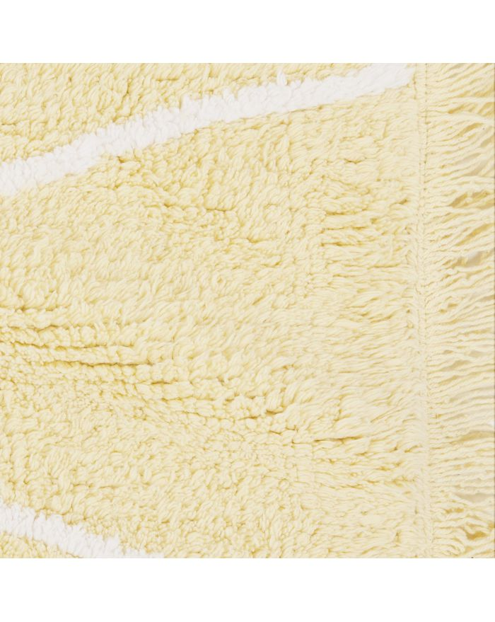 LORENA CANALS - TAPIS HIPPY -  Jaune - 120 x 160 cm
