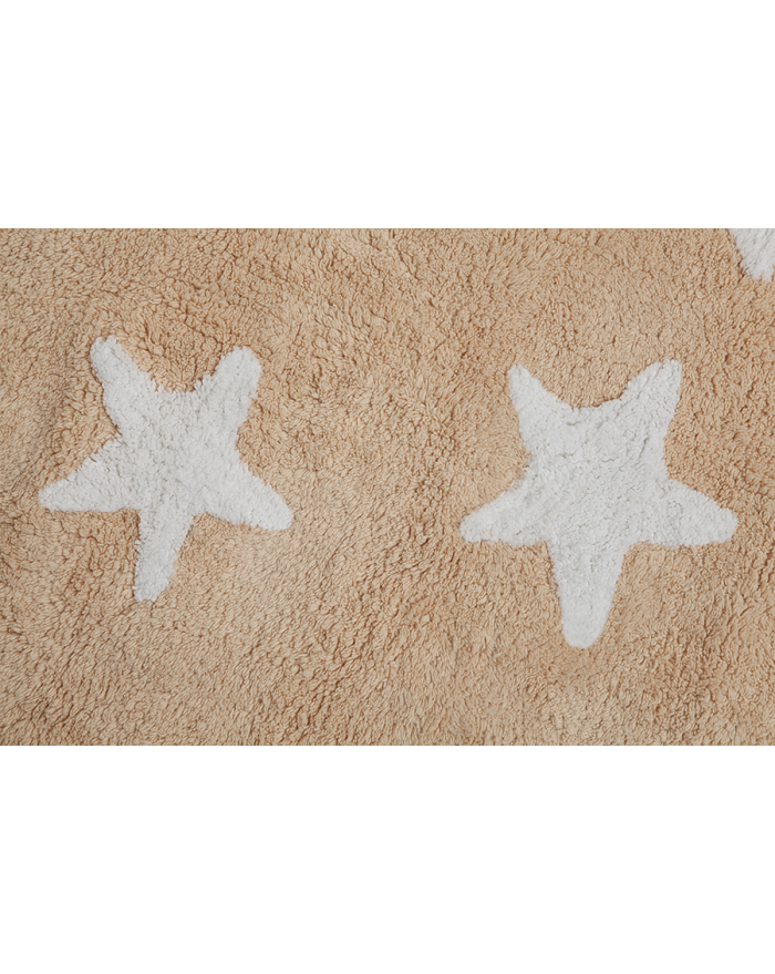 LORENA CANALS - TAPIS MESSY STARS - Nude - 120 x 160 cm
