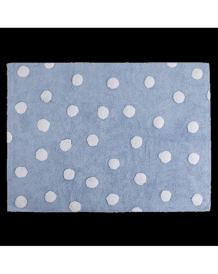 LORENA CANALS - TAPIS POIS - Bleu - 120 x 160 cm