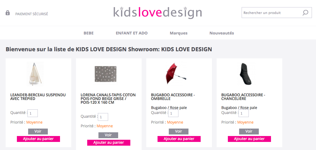 achat cadeau de naissance et liste design bebe et enfant kids love design. Black Bedroom Furniture Sets. Home Design Ideas