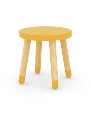 FLEXA - STOOL - Yellow