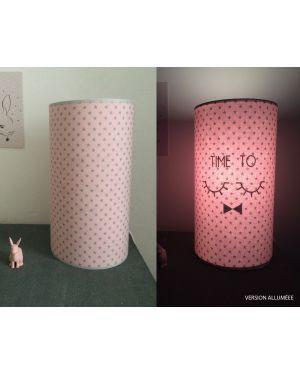 QUAND LES POULES AURONT DES DENTS - Lampe magique rose