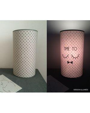 QUAND LES POULES AURONT DES DENTS - Lampe magique grise