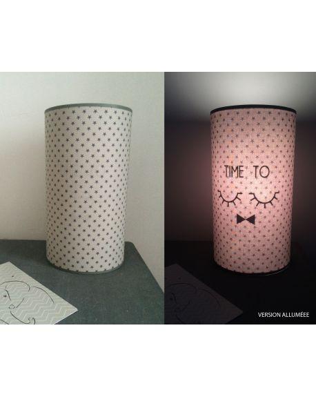 QUAND LES POULES AURONT DES DENTS - Magic lamp grey