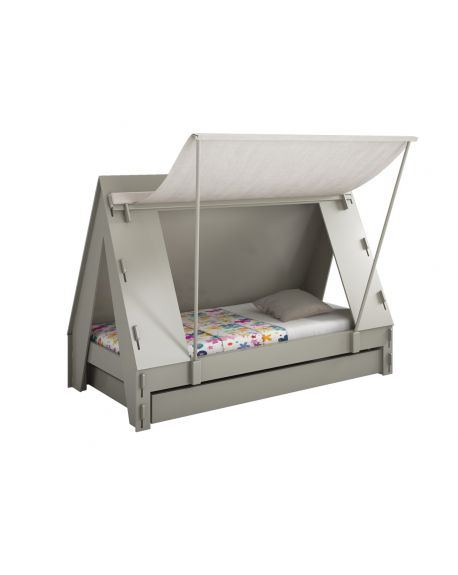MATHY BY BOLS - Tent bed (with Trundle)