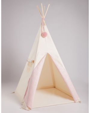 NUNUNU - TIPI - Pink with white butterflies