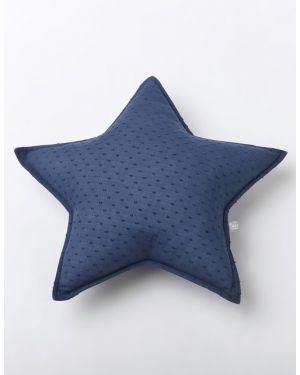 NUNUNU - Cushion - Ink Plumetis