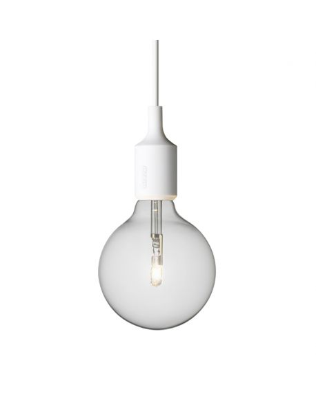 MUUTO-E27 - PENDANT LIGHT - White