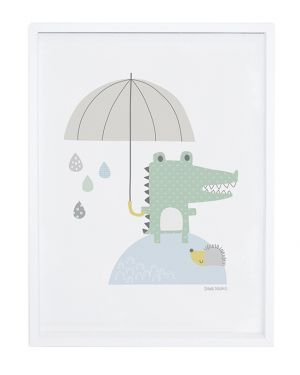 LILIPINSO - FRAME CROCODILE AND UMBRELLA