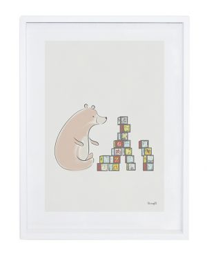LILIPINSO - FRAME BEAR AND CUBES