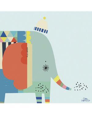 LILIPINSO - TABLEAU ELEPHANT GRAPHIQUE