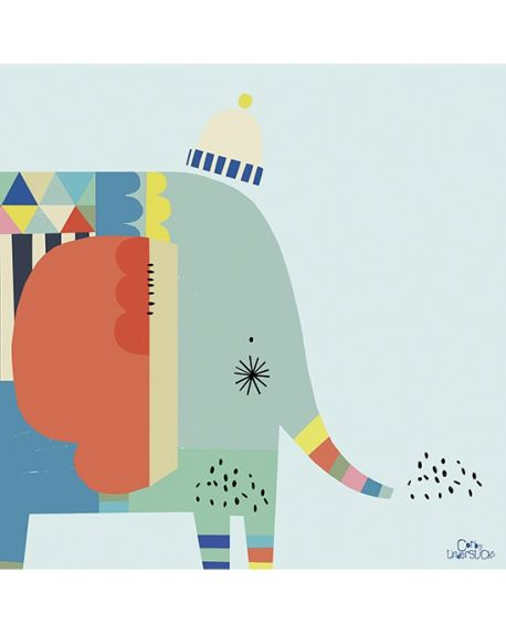 LILIPINSO - FRAME GRAPHIC ELEPHANT