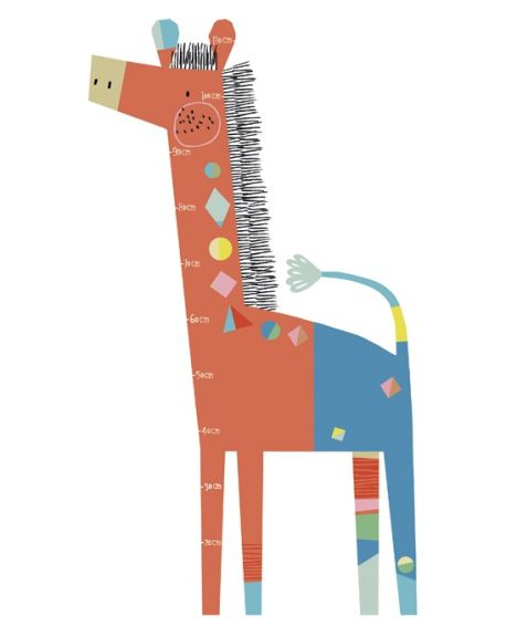 LILIPINSO - MODERN GIRAFFE STICKER