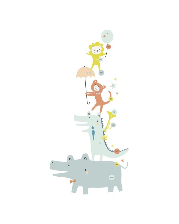 lilipinso baby animals sticker design decoration. Black Bedroom Furniture Sets. Home Design Ideas