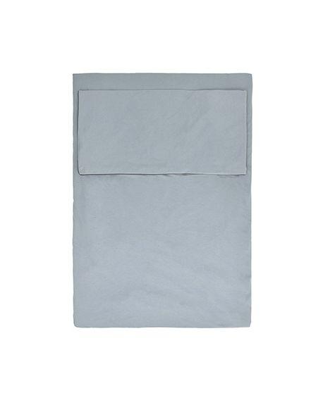 JACK N'A QU'UN OEIL - PEGASE - Duvet cover & cushion - Powder Blue - 140 x 200 cm cushion 64 x 64 cm