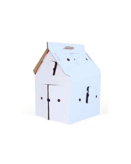 KIDSONROOF - CASA CABANA - Maison en carton