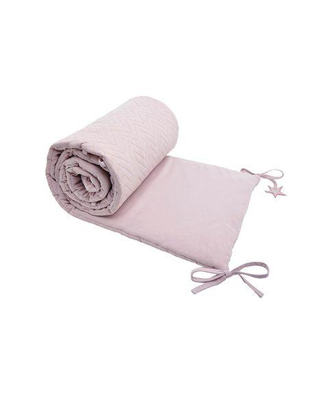 JACK N'A QU'UN OEIL - ZIGZAG CENTAURE - Crib Liner - Light Pink