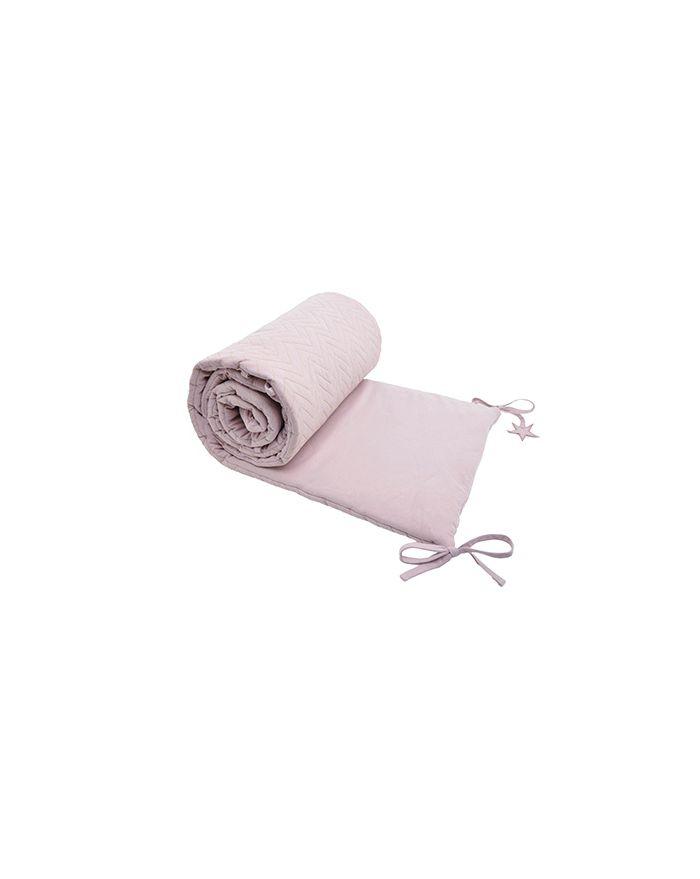 Jack n a qu un oeil zigzag centaure tour de lit gris souris - Tour de lit rose poudre ...