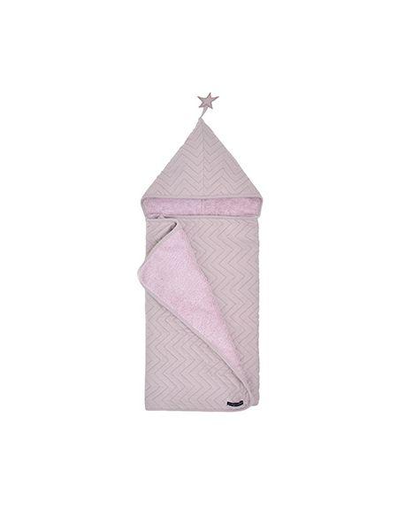JACK N'A QU'UN OEIL - ZIGZAG JUPITER - Bath cape - Light Pink