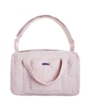 JACK N'A QU'UN OEIL - ZIGZAG - Maternity bag - Light Pink