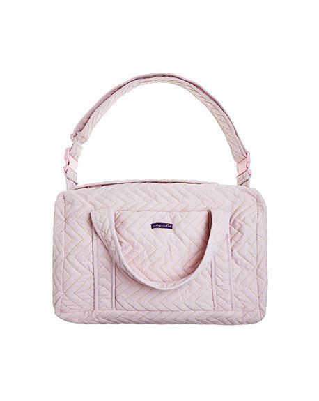 JACK N'A QU'UN OEIL - ZIGZAG - Maternity bag - Light Pink