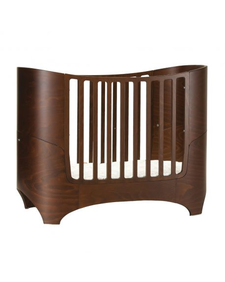 LEANDER - DESIGN CONVERTIBLE COT from 0 to 8 years old - Walnut