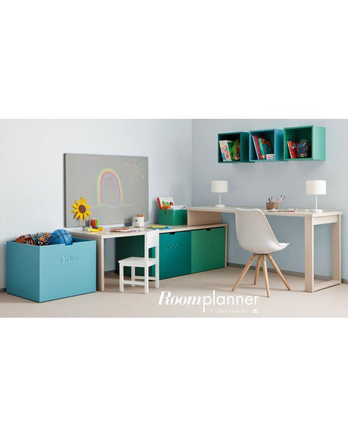 Asoral chambre design enfant et ado lit design et lit for Casiers de rangement bureau