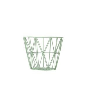 FERM LIVING - Wire Basket medium - Mint