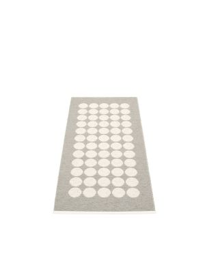 PAPPELINA - FIA GRIS CLAIR - Tapis design en plastique 70 x 150 cm