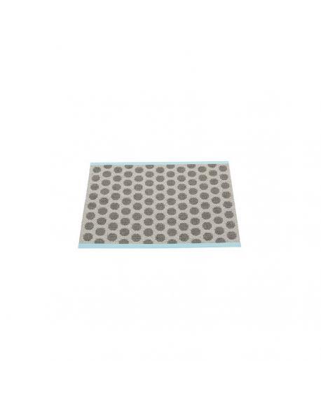PAPPELINA - NOA GRIS/CHOCOLAT - Tapis design en plastique 70 x 50 cm
