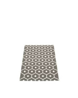 PAPPELINA - HONEY CHARCOAL - Tapis design en plastique 70 x 100 cm