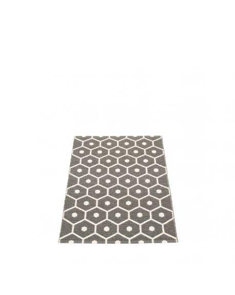 PAPPELINA - HONEY CHARCOAL - Tapis design en plastique 70 x 100 cm
