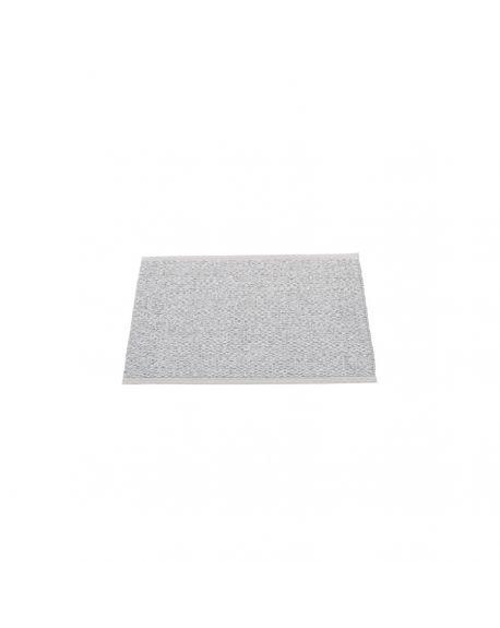PAPPELINA - SVEA GRIS - Tapis design en plastique 70 x 50 cm