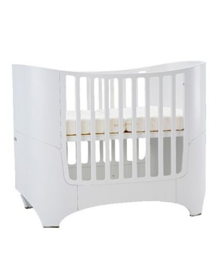 LEANDER - DESIGN CONVERTIBLE COT from 0 to 8 years old - White